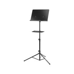 All-steel Music Stand with Tray »OX-King«
