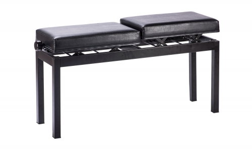 Metal Twins Piano Bench